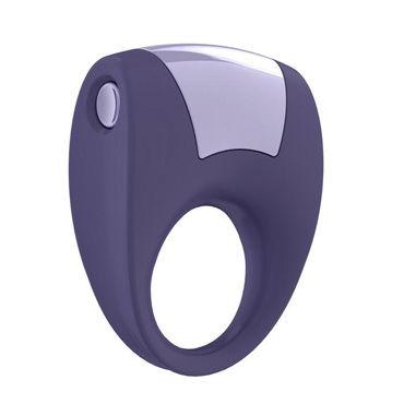 Ovo B8 Эрекционное кольцо, фиолетовый С виброэлементом, стимулирующее клитор эрекционное кольцо rock hard ass gasm с анальным стимулятором черное с вибрацией
