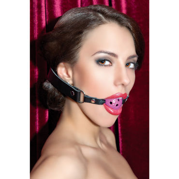 ToyFa Theatre Кляп, розовый С отверстиями г жа вагинальной смазки смазочные жидкости для смазки повысить удовольствие от оргазма ya запустить специальный спреи 5 мл возбуждающую