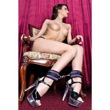 ToyFa Theatre Оковы, фиолетовый Из неопрена fetish fantasy series gold nipple bull rings package of 6