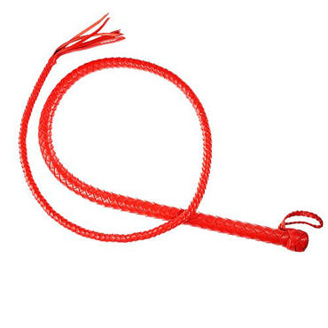 Sitabella плеть Кубанка, красная С силиконовым сердечником sitabella bdsm плеть однохвостая красно черная с хлопушкой