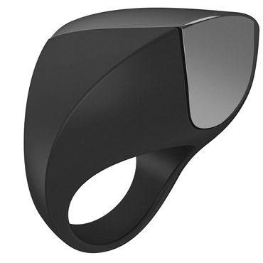 Ovo A1 Эрекционное кольцо, черное С перезаряжаемым аккумулятором just glide waterbased 50 мл