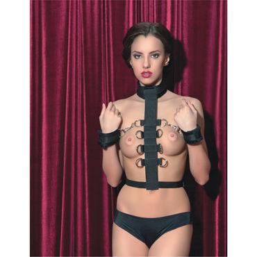 ToyFa Theatre Бондаж С мягкими наручниками doc johnson realistic cock 20 см черный реалистичный фаллоимитатор на присоске
