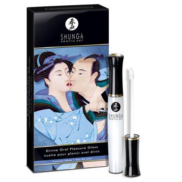 Shunga Divine Oral Pleasure, 10 мл Средство 3в1 с ароматом кокоса jd коллекция нестись дефолт