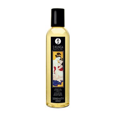 Shunga Sereniti Monoi, 250мл Массажное масло, моной популярные товары для взрослых диаметр 3 4 см меньше