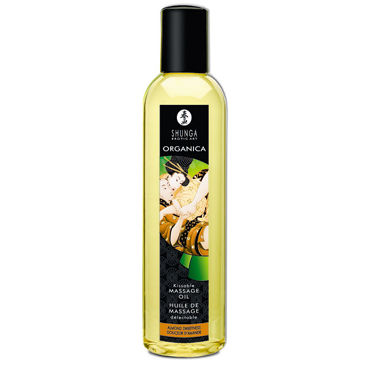 Shunga Organica, 250 мл Массажное масло, миндаль shunga kissable massage cream pear