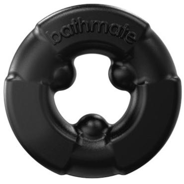 Bathmate Gladiator, черное Эластичное эрекционное кольцо bathmate goliath cleaning brush пластиковый скребок для очистки