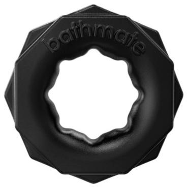 Bathmate Spartan, черное Универсальное эрекционное кольцо ns novelties jolie platinum plug черный щенок