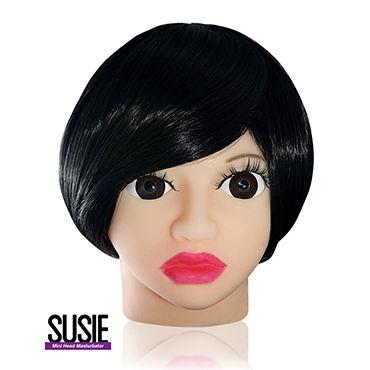Голова-мастурбатор Susie Компактного размера набор анальных пробок orbite разного размера
