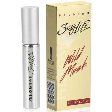 Sexy Life Wild Musk №2 Eros Versace, 10 мл Мужской парфюм с мускусом и двойным содержанием феромонов sexy life musk