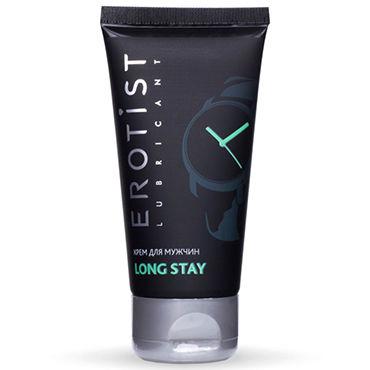 Erotist Long Stay, 50 мл Продлевающий крем для мужчин soft line подвязка белая со стразиком на бантике