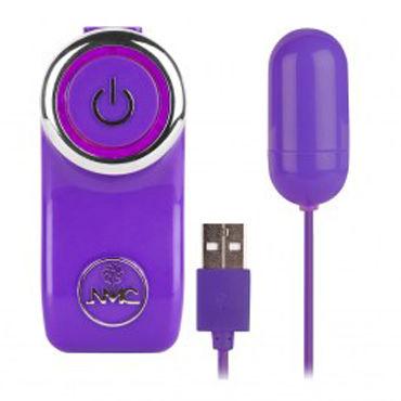 NMC Potent X, фиолетовое Виброяйцо с USB-проводом ж тьс potent ч usb to orgasm белое