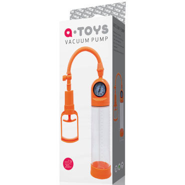 Toyfa A-toys Vacuum Pump, оранжевая Вакуумная помпа с манометром industrial commercial oil less vacuum pump becker vt4 4 vacuum pump 1 ph ac220v 0 21 kw