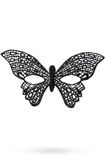 Toyfa Theatre маска Бабочка, черная Маска ажурная из нитей toyfa theatre маска диадема черная маска ажурная из нитей
