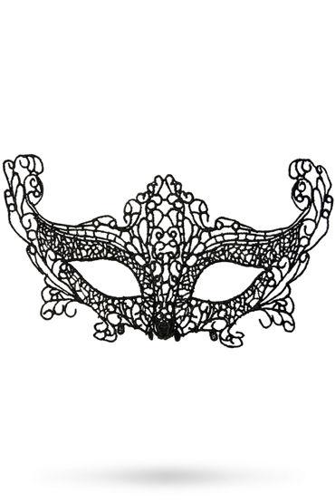 Toyfa Theatre маска Лисичка, черная Маска ажурная из нитей toyfa theatre маска диадема черная маска ажурная из нитей