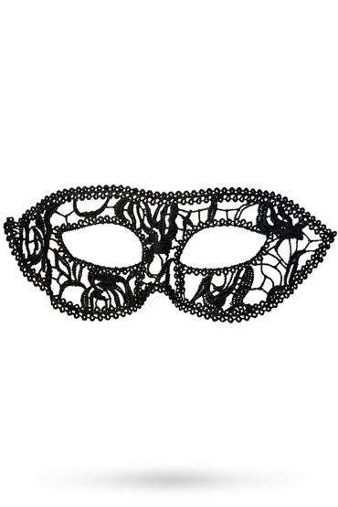 Toyfa Theatre маска Маскарад, черная Маска ажурная из нитей pipedream anal fantasy collection insta gaper раскрывающаяся анальная втулка