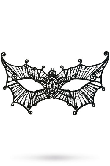 Toyfa Theatre маска Паутинка, черная Маска ажурная из нитей sweden yes