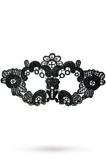 Toyfa Theatre маска Цветы, черная Маска ажурная из нитей toyfa theatre маска бабочка черная маска ажурная из нитей