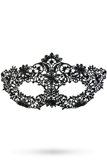 Toyfa Theatre маска Королевская вязь, черная Маска ажурная из нитей ажурная маска на глаза uni