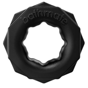 Bathmate Spartan, черное Эрекционное кольцо для мужчин doc johnson vac u lock the realistic cock without balls 30 см телесный реалистичный фаллоимитатор насадка к трусикам