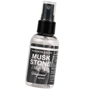 Natural Instinct Musk Stone Man, 50 мл Парфюм для нижнего белья с феромонами и ионами серебра doc johnson brea bennett