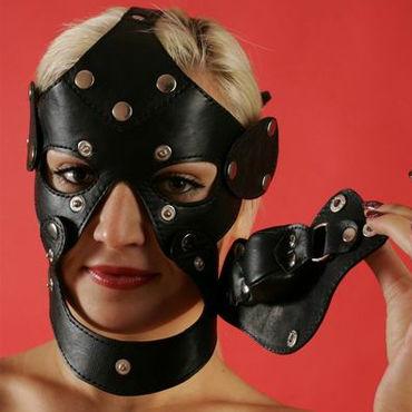 Podium маска C кляпом you2toys backdoor friends xl черная анальная пробка