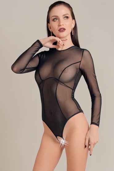Waname Apparel Grace, черное Эротическое боди с рукавами мужское эротическое нижнее белье other brands ny3040001 jj