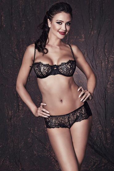 Anais Lulie, черный Комплект из бюстгальтера и трусиков комплект эротического нижнего белья other brands sm