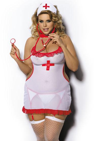 Angels Never Sin Shane, белый Костюм медсестры angels never sin purity белый костюм горничной