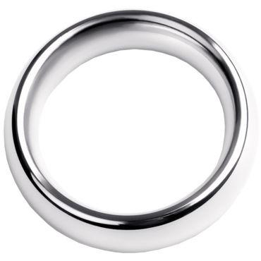 Toyfa Metal Кольцо на пенис 4 см, серебристое Эрекционное из металла кляп паук toyfa theatre серебристый