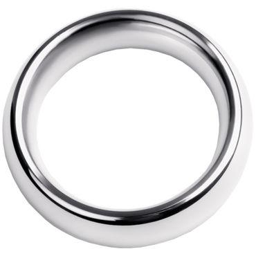 Toyfa Metal Кольцо на пенис 4,5 см, серебристое Эрекционное из металла кляп паук toyfa theatre серебристый