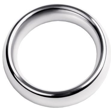 Toyfa Metal Кольцо на пенис 5 см, серебристое Эрекционное из металла кляп паук toyfa theatre серебристый