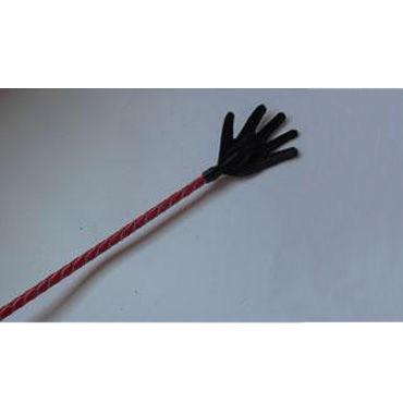 Podium стек 85 см, черно-красный Наконечник-ладошка, лакированный 6 beastly маска черно красная