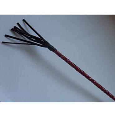 Podium стек 85 см, черно-красный Наконечник-кисточка 20 см, лакированный toyfa a toys multi speed vibrator 19 5см телесный вибратор реалистичный многоскоростной