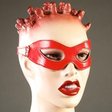 Podium очки, красные Из лакированной кожи podium цепи с карабинами 30 см с соединительным кольцом