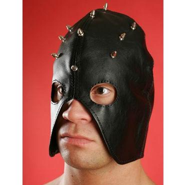 Podium полу шлем Декорированный шипами бюст пояс и стринги capri l xl