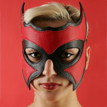 Podium очки, черно-красные С замшевой подкладкой бдсм маски podium