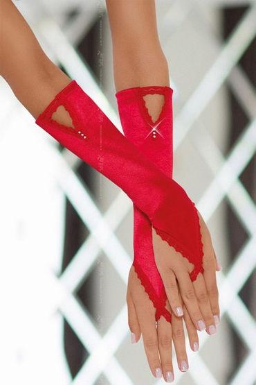Soft Line перчатки, красные Изысканный аксессуар