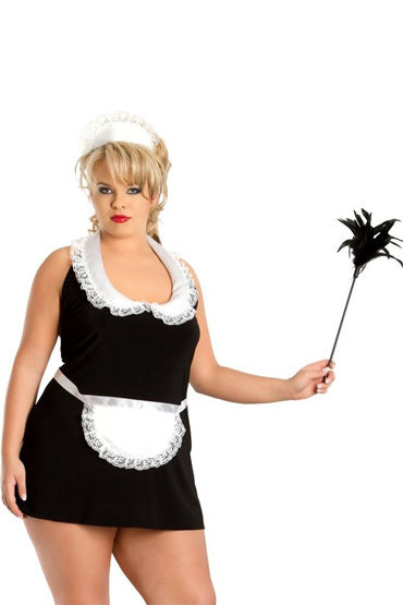 Soft Line Винона Костюм горничной, с чепчиком r cotelli платье горничной черно белое