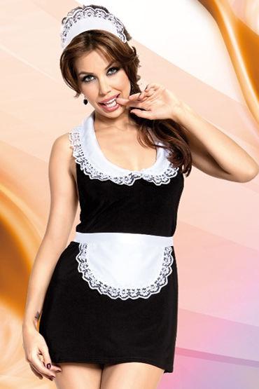 Soft Line Винона Костюм горничной, с чепчиком костюм горничной soft line fifi черный s m