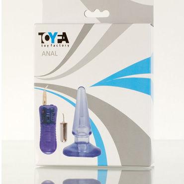 Toyfa вибровтулка Анальная, водонепроницаемая вибровтулка красный