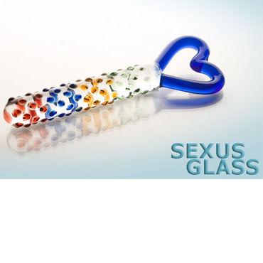 Sexus Glass фаллоимитатор Стекло анальный массажер sexus glass 13 5 см