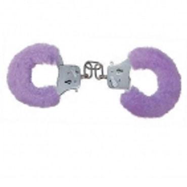 Toy Joy наручники Сиреневые toy joy furry fun cuffs голубые наручники с мехом