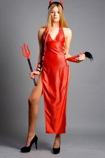 Flirt On Sexy Devil Секси наряд для жарких игр livco corsetti choker 27022 черный чокер на шею с подвеской