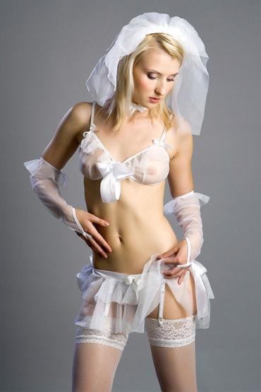 Flirt On Невеста Нежный наряд для ролевых игр костюмы и одежда для ролевых игр flirt on