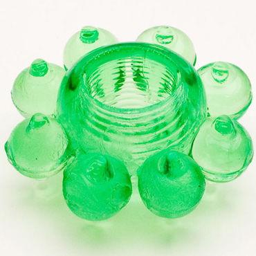 Toyfa кольцо, зеленое Гелевое, эрекционное трусики прозрачные