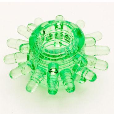 Toyfa кольцо, зеленое Гелевое, эрекционное toyfa кольцо прозрачное гелевое эрекционное