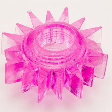 Toyfa кольцо, розовое Гелевое, эрекционное california exotic screw me the big socket эрекционное кольцо в форме гайки