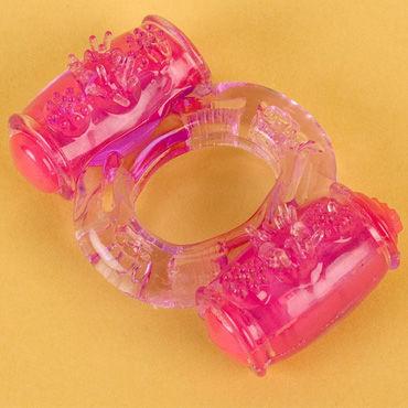 Toyfa виброкольцо Фиолетовое кольца на пенис диаметр 3 4 см