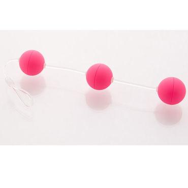 Sexus Funny Five шарики розовые Анальные анальные игрушки для женщин цвет голубой