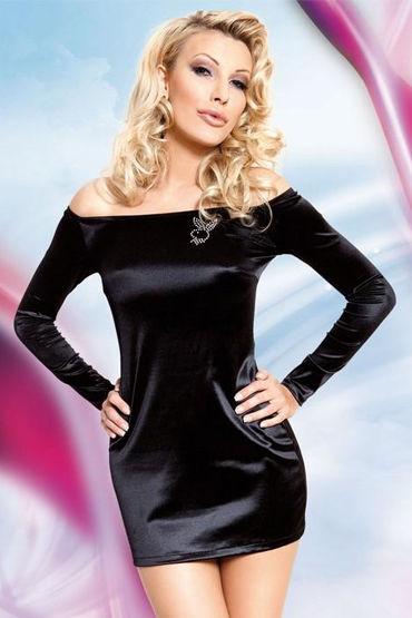 Soft Line платье С открытыми плечами, длинный рукав